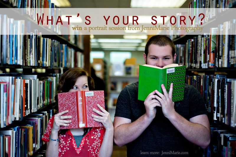 What's Your Story?  Portrait Session Giveaway